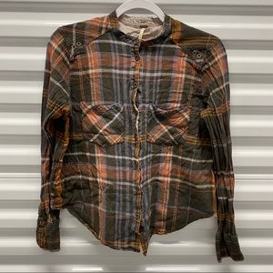 Free People Flannel Small
